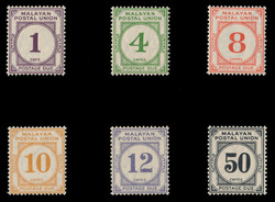 4235: Malaya - Portomarken
