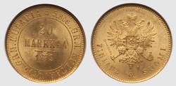 40.100.10.40: Europa - Finnland - Euro Münzen  - Gold und Silbermünzen