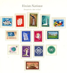 7590: Collections and Lots, United Nations - Collections