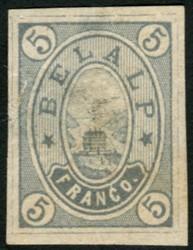5714: Switzerland Hotelpost stamps