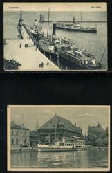 746030: Ships and Navigation, Ship Mail, Ship Mail on Lake Constanze