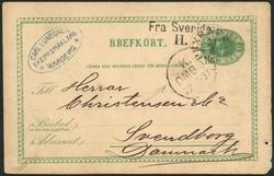 5625: Sweden - Postal stationery