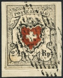 5655090: スイス・市内郵便