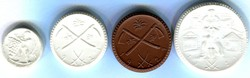 125: Auxiliary coins and tokens