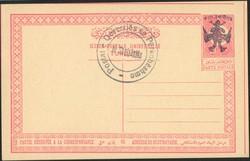 1620: Albanien - Postal stationery