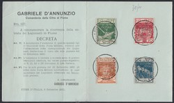 2555: Fiume - Militaerpostmarken
