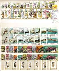7600: Collections and Lots Arabia States - Stamps bulk lot