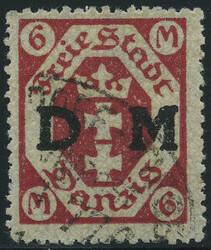 340: Danzig - Dienstmarken