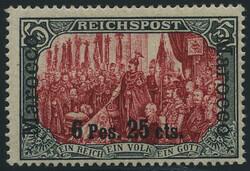 155: Deutsche Auslandspost Marokko