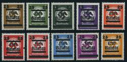 930: Deutsche Lokalausgabe Glauchau - Dienstmarken