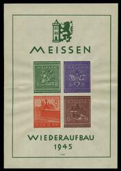 1065: Deutsche Lokalausgabe Meissen - Blöcke