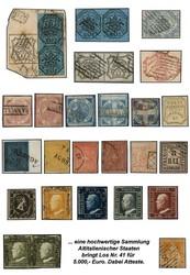 7160: Sammlungen und Posten Italienische Staaten - Sammlungen