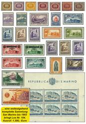 5590: San Marino - Collections