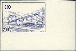 1820: Belgium Railway Parcel stamps