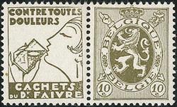 1810: Belgium - Se-tenant prints