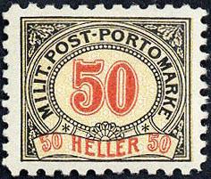 1920: Bosnia Herzegowina  - Postage due stamps