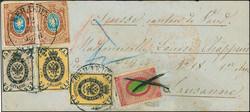 5465: Russia Wendensche Circle Post