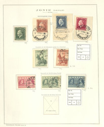 7167: Collections and Lots Italy Occupation 1941/43 - Collections