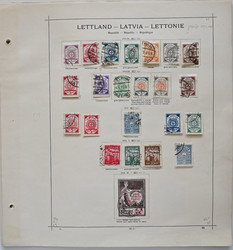 4145: Latvia - Collections
