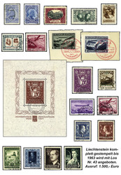 4175: Liechtenstein - Collections