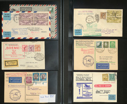 7690: Collections and Lots Zeppelin and Airmail - Collections