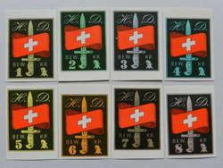 5711043: Soldatenmarken  H D - Bewachungsdienst