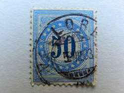 5655202: Schweiz Portomarken 1882, 9. Auflage, Type II, KZ. I (FASERPAPIER)