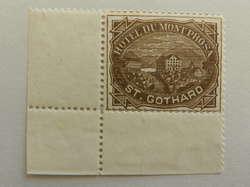 5714: Schweiz Hotelpostmarken