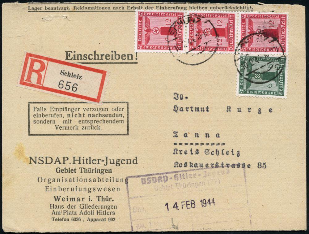 Philasearchcom Deutschland Ost Plz Gebiet O 65 655 Schleiz
