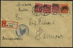 102120: Deutschland West, Plz Gebiet W-21, 212 Lüneburg - Dienstmarken