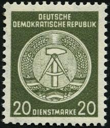 1381: DDR Dienstpost - Dienstmarken