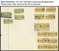 1385: DDR Verwaltungspost B Zentraler Kurierdienst - Dienstmarken