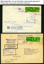1400: DDR Einschreibemarken (SBPÄ)