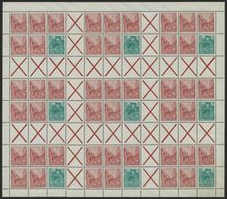 1380: DDR - Markenheftchenbogen