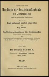 8700120: Literatur Deutschland Handbücher - Philatelistische Literatur
