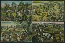 7090: Sammlungen und Posten Baltische Staaten - Postkarten