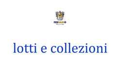 7161: Collections and Lots Italy and Areas - Collections