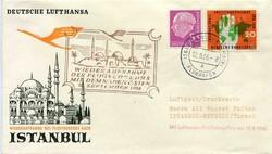 448024: Luftfahrt, Flugpost, Lufthansa