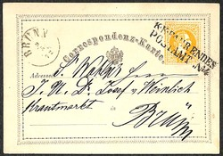 4745070: Austria 1863/64 Issue - Postal stationery