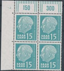10350030: Saarland (Bundesrepublik) - Bogenränder / Ecken