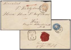 4745070: Autriche édition 1863/64 - Postal stationery