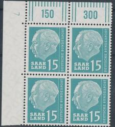 10350030: 薩爾蘭 1957-1959 - Sheet margins / corners
