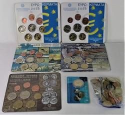 40.140.10.10: Europa - Griechenland - Euro Münzen  - Münzsätze