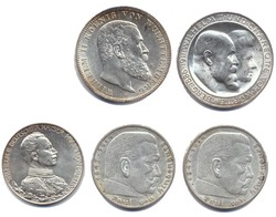 100.70.80: Lots - Münzen - Deutschland