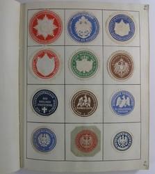 7740: Sammlungen und Posten Vignetten - Aufkleber