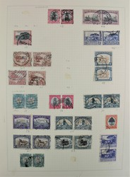 7360: Collections and Lots Africa - Sheet margins / corners