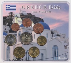 40.140.10.10: Europe - Greece - Euro - Coins - sets