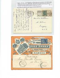 7382: Sammlungen und Posten Latein-Amerika - Briefe Posten