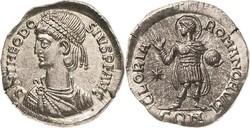 10.40.30: Ancient Coins - Eastern Roman Empire - Theodosius II, 402 - 450