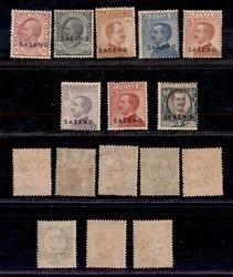 3520: Italienische Post in Albanien